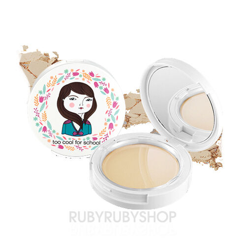 [TOO COOL FOR SCHOOL] Photoready Pact 10g - #1 Light Beige (SPF25)