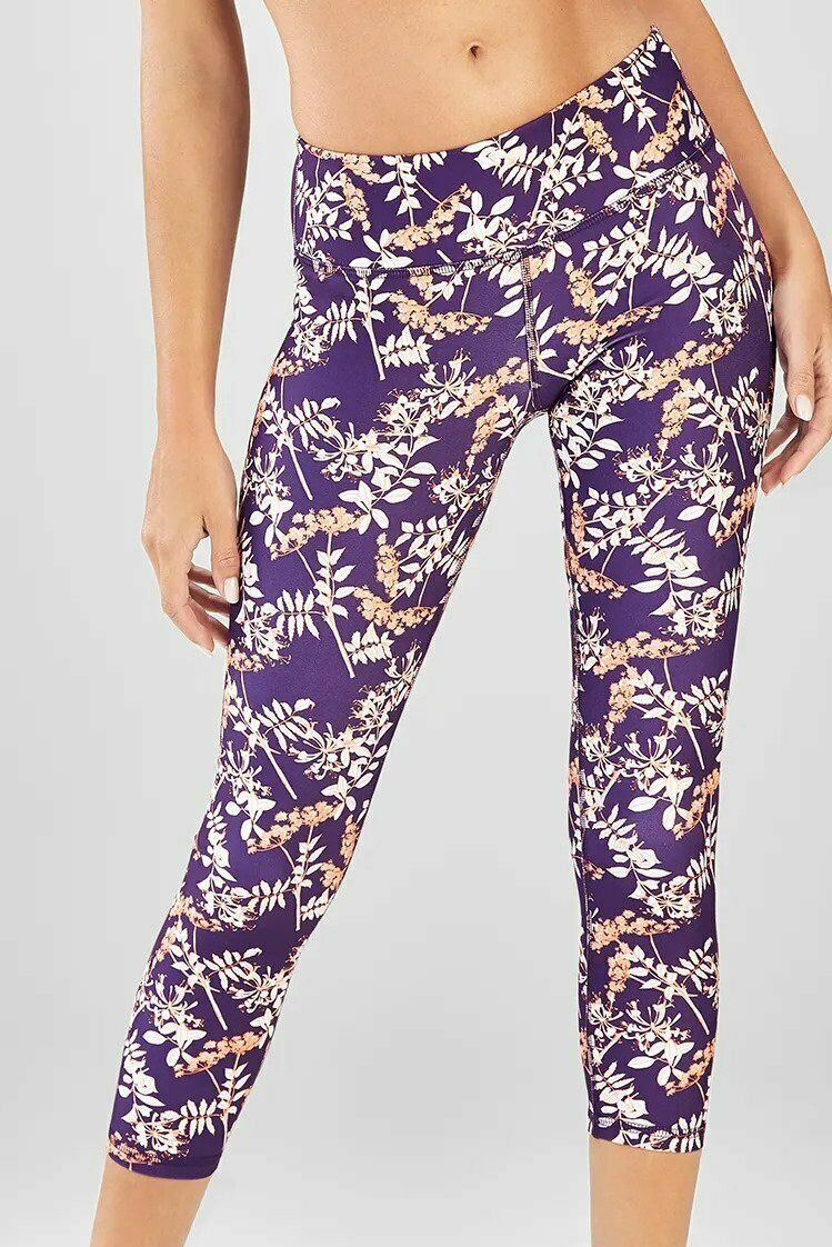 28c5a1c136e42c NWT - FABLETICS Women's SALAR POWERHOLD LEGGINGS - L Arcadia PRINTED  nrzrre6422-Activewear Bottoms