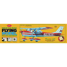 GUILLOWs Cessna 150 309 Powered Balsa Aircraft 1:16 Flying Model Kit