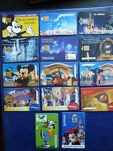 14 télécartes - Disney : Mickey, Minnie, Dingo, etc... - France - État : Occasion: Objet ayant été utilisé. Consulter la description du vendeur pour avoir plus de détails sur les éventuelles imperfections. ... - France