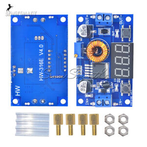 5A Adjustable Power DC-DC Step-down Charge Module LED Driver With Voltmeter