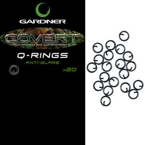 CARP FISHING RIGS MATT BLACK ANTI GLARE Q RING QUICK CHANGE LINKS 6mm