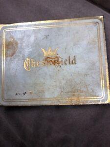 Original Vintage Chesterfield Cigarettes Box Ebay