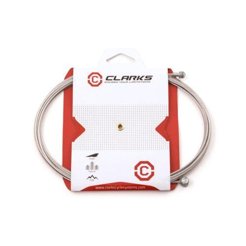 Clarks Acier Inoxydable frein straddle fil 465 mm cardes