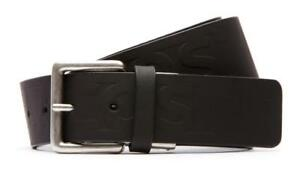 6e7475d115b088 BRAND NEW LACOSTE MEN S EMBOSSED LOGO PREMIUM CLASSIC LEATHER BELT ...