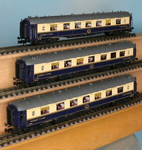 Ls Models 79173 Spur N Ciwl Pullman Set 3 Teilig Blau Creme Ep
