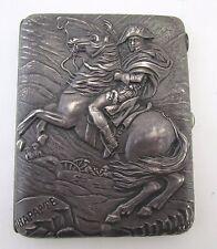 Antique19th/early 20th Century Russian Cigarette Silver Case by K.I. Skvortsov