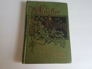 Blafter-and-Blufen-German-Hardcover-Book-Antique