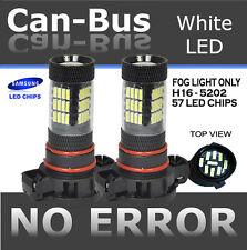 TMZ 2x Samsung Chips Canbus 57 LED H16 5202 FOG LIGHT bulbs w/No Error #UG28