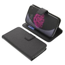 Bolso para doogee valencia 2 y100 pro smartphone Bookstyle funda protectora negro