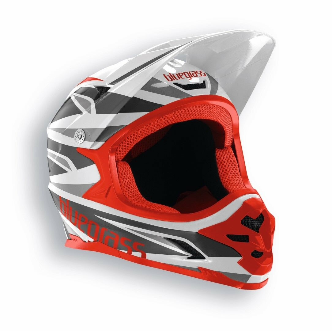 blueegrass Intox Full Face Helmet Mountain Bike Downhill BMX 52cm-62cm White