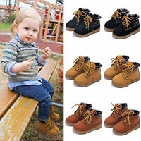 Winter Autumn Fashion New Boys Girls Martin Boot Baby Kids Sports Shoes Sneakers