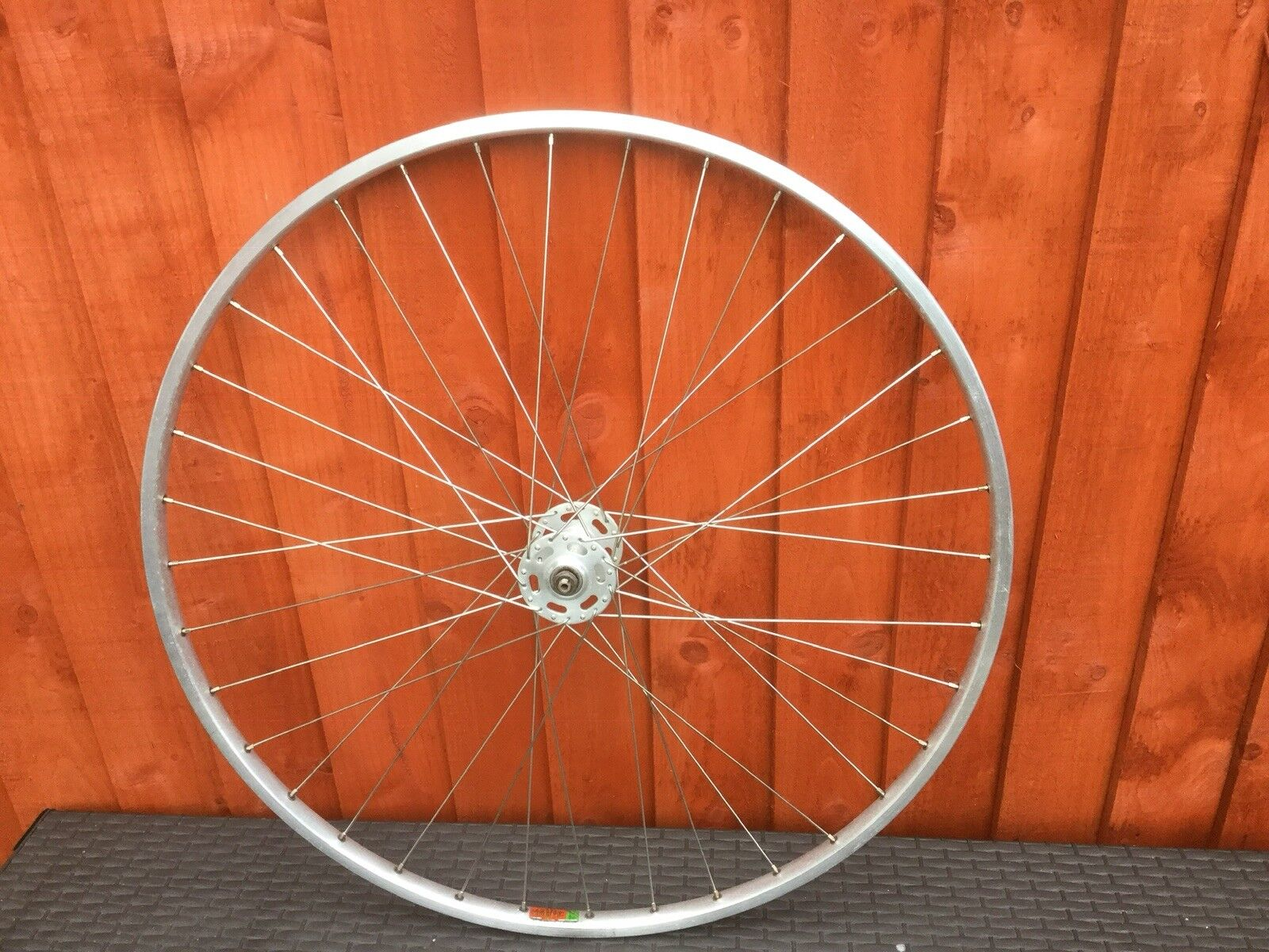 Vintage 1978 Mavic Modul 27x11 4 rim Normandy High Flange 36H Hub Front Wheel
