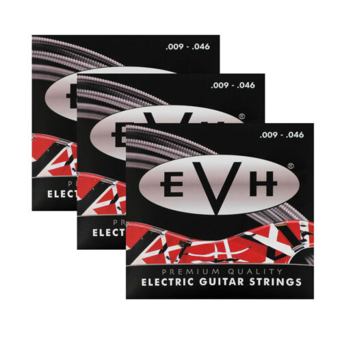 09-46 3-Pack of EVH 946 Eddie Van Halen Premium Electric Guitar Strings