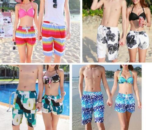 2015 Couples Lover Beach Pant Women Men Boardshorts Surfing Swimming Board short
