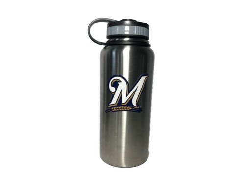32oz or 40oz 18oz 2 colors Milwaukee Brewers Stainless Steel Water Bottle