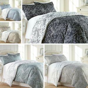 Ultra-Soft-3-piece-Reversible-Winter-Brush-Floral-Duvet-Cover-Set