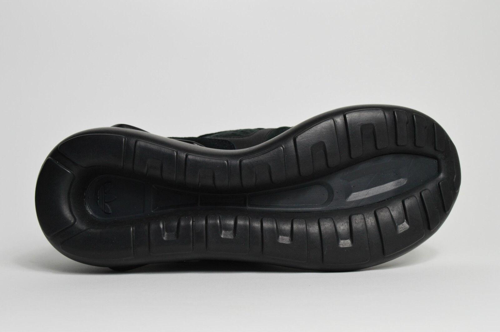 Adidas Tubular Runner Suede BLACKOUT Neu All Suede Runner max atmos yeezy boost zx a546c5