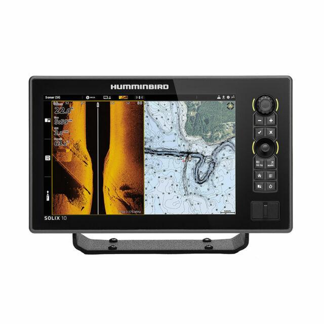 Humminbird SOLIX™ 10 CHIRP MEGA SI Fishfinder/GPS G2 w/Tra