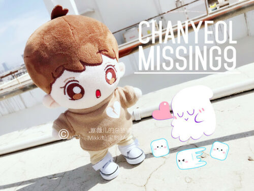 Hand-made Kpop EXO XOXO Park Chanyeol Doll Clothes Missing9 Sweater Gift Be