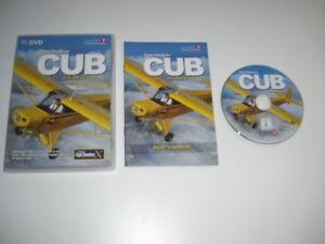 Details about Flight Replicas CUB Pc DVD Rom Add-On Pack Microsoft Flight  Simulator Sim X FSX