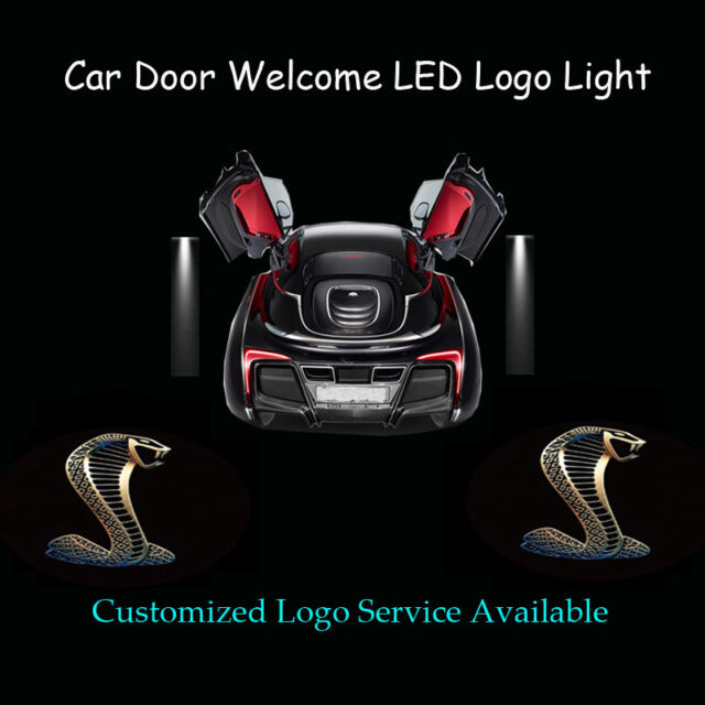 2x 3d cobra logo car door projector shadow led light for shelby for sale online ebay 2x 3d cobra logo car door projector shadow led light for shelby