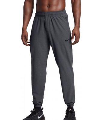 Nike Elite Basketball Pants Grey Heather Pockets Dri-Fit $70 Mens L XL 2XL 3XL