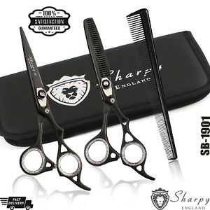 Professional-Barber-Hairdressing-Scissors-Hair-Cutting-Thinning-Shears-Set-6-034