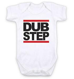 RAP HIP HOP MUSIC RUN DMC LOGO Baby Grow Bodysuit