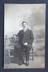 Postcard-Antique-CPA-Animated-Portrait-Picture