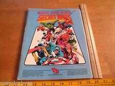TSR Marvel Super Heroes MHSP 1 Secret Wars module book 6860 RPG 1984
