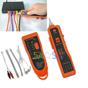 telephone lan network rj45 11 tester tracker cable wire finder rh ebay com