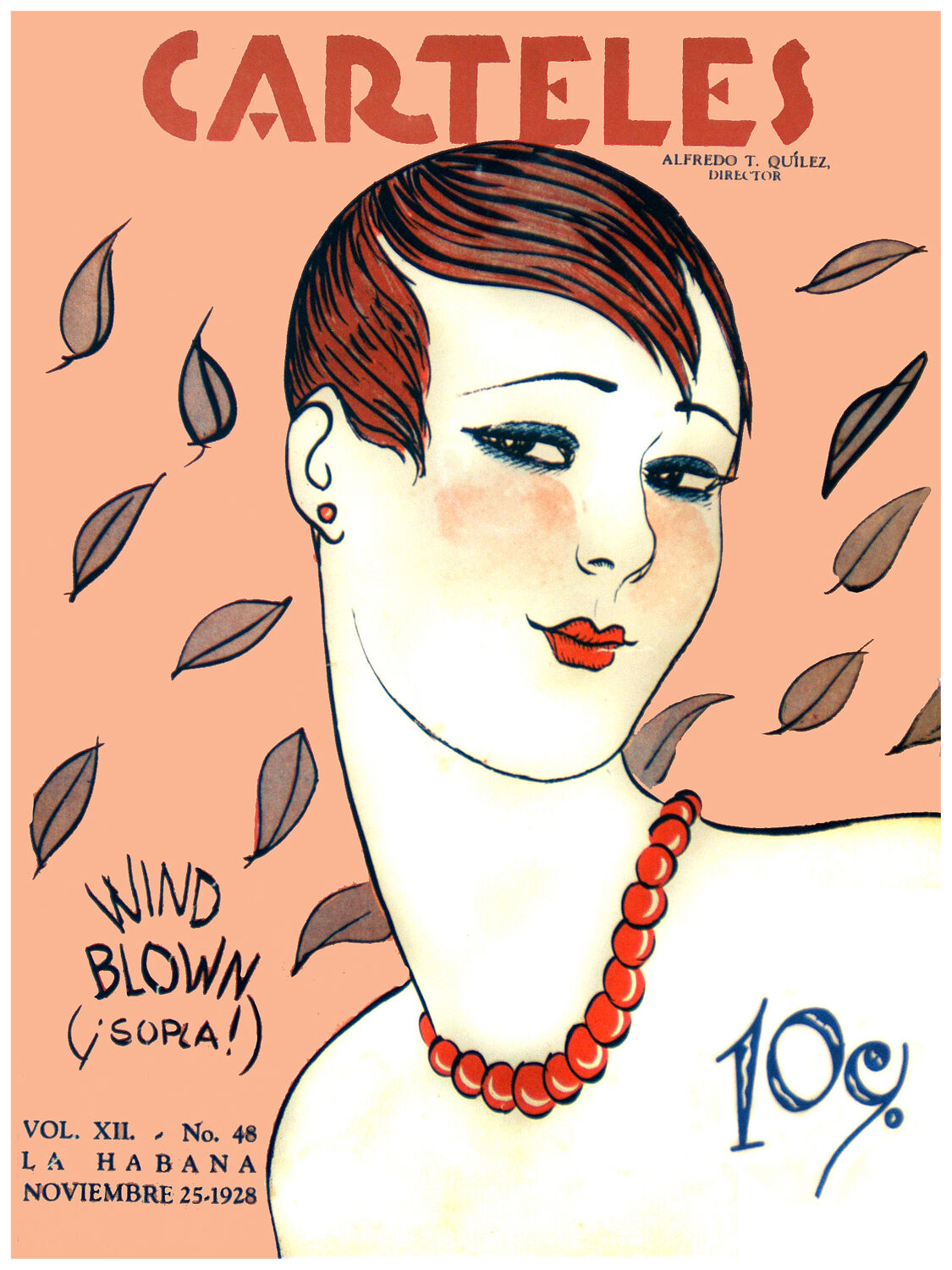 363.Quality Design poster Pretty Short Hair Deco girl rot Pearls.Home interior