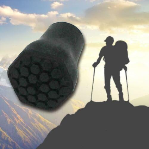 Walking Stick Ferrules Black Rubber Cane Crutch Bottom Duty End Heavy Q6E2 V8R3