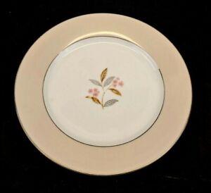 Noritake China Sheridan Salad Plate Vintage 1953-1958 Rose Platinum 5441