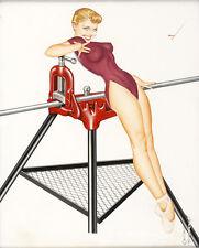 "Vintage Pin Up Rigid Tool Illustration 1956 11 x 14/""  Photo Print"