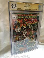 The X-Men #109 CGC 9.4 Signed by Chris Claremont 1st Appearance of Weapon Alpha