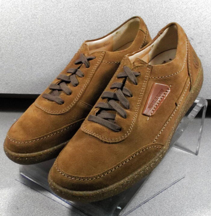 MNP611183 TAN MMMS75 Men's shoes Size 8 () Suede Lace Up Mephisto