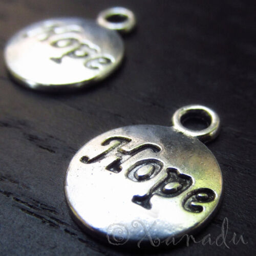 Believe Wholesale Antiqued Silver Plated Charm Pendant C0026-10 20 Or 50PCs