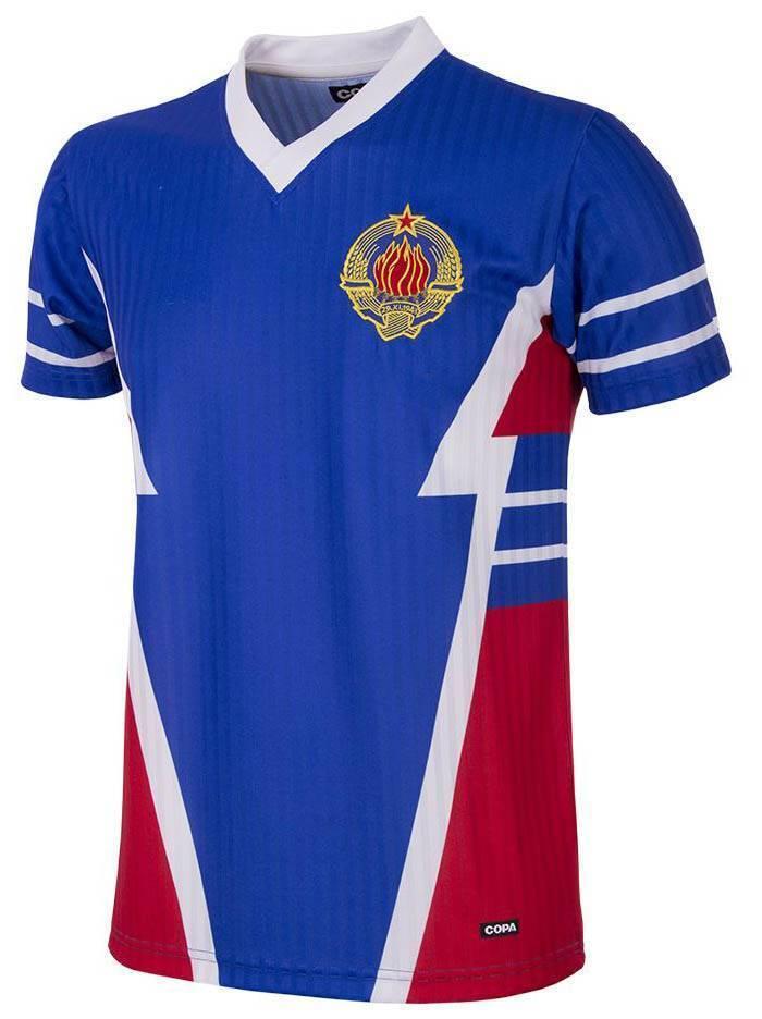 Copa Jugoslawien Retro Trikot 1990 blau NEU NEU NEU 94364 7f0497