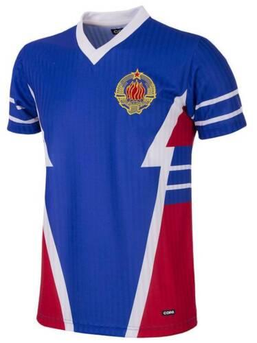 Copa Jugoslawien Retro Trikot 1990 blau NEU 94364