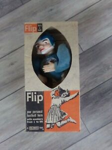 🔥Vintage NFL Original 1960's HOUSTON OILERS Roko Flip Doll In Box AFL RARE