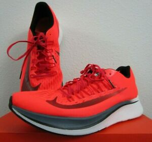 Sudor alumno Alegre  Mens 12.5 Nike Zoom Fly Running Fashion Cross Training Shoes - Bright  Crimson | eBay