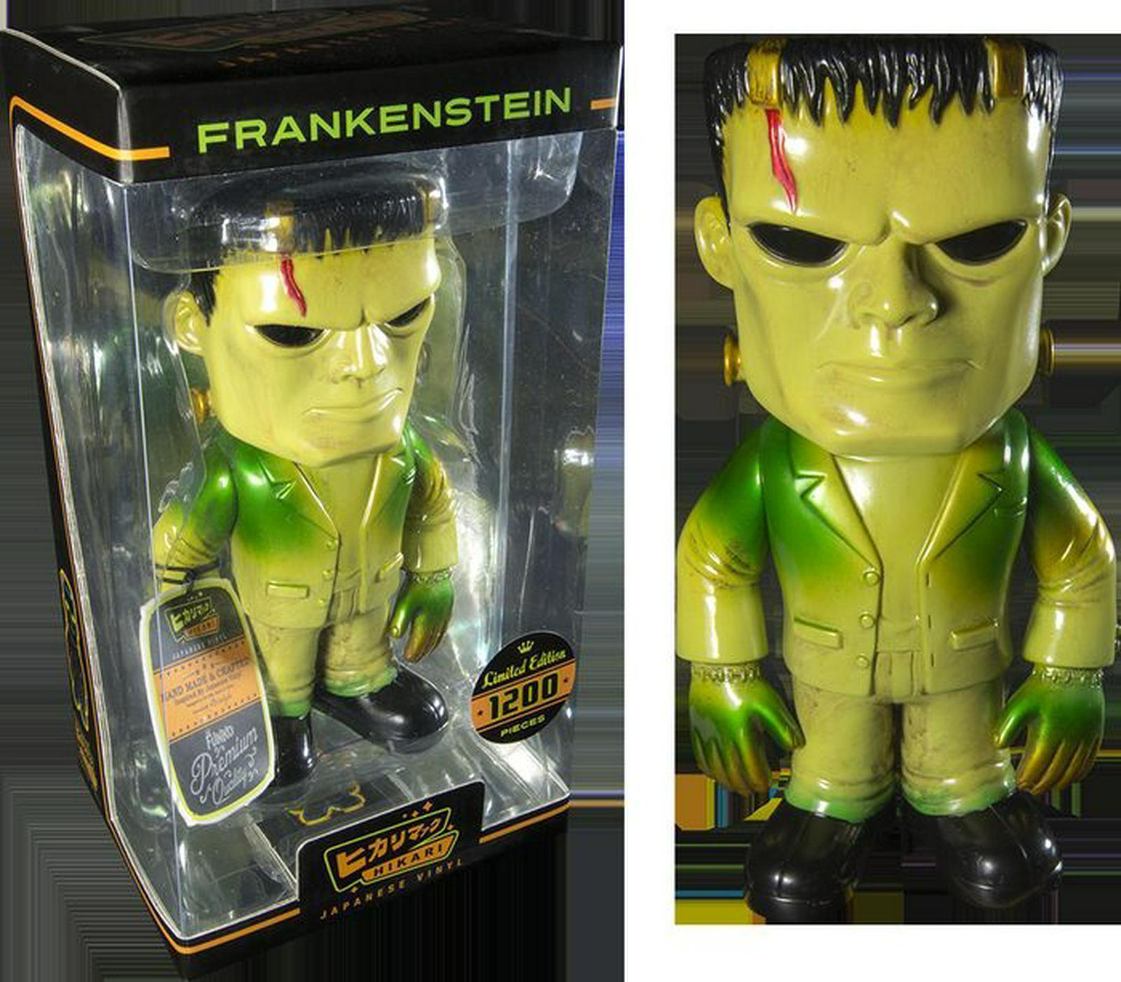 Frankenstein VERDE Hikari Figura Giapponese VINILE LIMITED EDITION 1200 solo