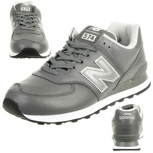 Details zu New Balance ML574 LPC Classic Sneaker Herren Schuhe grau Leder