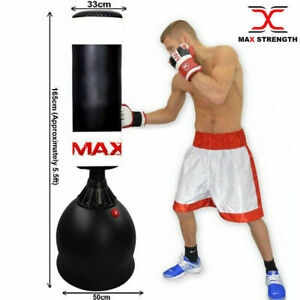 Free Standing Boxing Punch Bag Kick Heavy Duty MMA Martial Art Training 5Ft