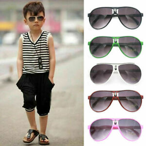 ANTI-UV-Kids-Sunglasses-Child-Boys-amp-Girls-Shades-Baby-Goggles-Glasses-Outdoor-NEW