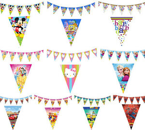 Fun-Cute-Children-Kids-Baby-Boy-Girl-Party-Flags-Banner-Bunting-Decorations-Toy