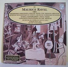 33T Maurice RAVEL Disque LP RHAPSODIE ESPAGNOLE HAAS Piano MUSIQUE ALPHA N° 85