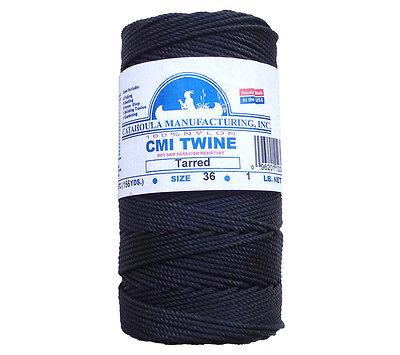 environ 0.45 kg Catahoula fabrication No 36 goudronnés Twisted BANK LINE approx. Bobine 1 Lb